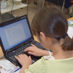 e2プロジェクト2015 パソコン講習会 場所:株式会社ウィー