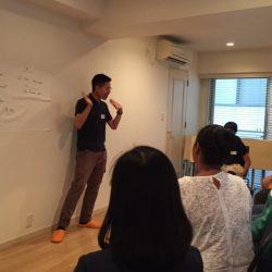 ジョブリハ2015 英会話 協力:アンダーズ東京 さま 場所:ロッカーズ・ルーム