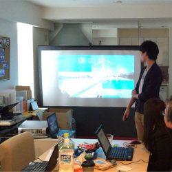 e2プロジェクト2015 パソコン講習会 場所:ロッカーズ・ルーム