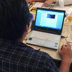e2プロジェクト2016 パソコン講習会 場所:ロッカーズ・ルーム